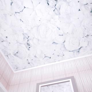 Панели ПВХ PANDA «Цветы» — Потолочная панель