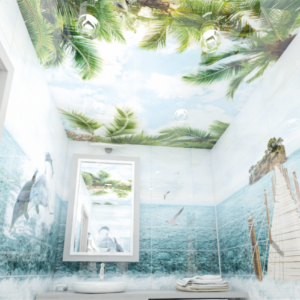 Панели ПВХ PANDA «Небо» — Потолочная панель