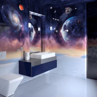 Панели ПВХ PANDA «Космос» — Потолочная панель