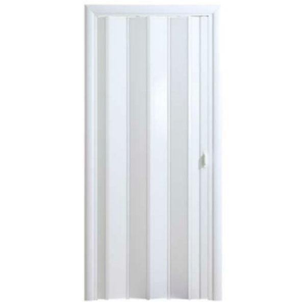 Дверь-гармошка Стиль «Белый глянец»