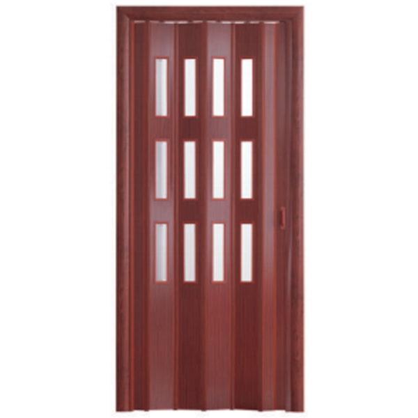 Дверь-гармошка Фаворит «Итальянский орех»