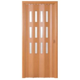 Дверь-гармошка Фаворит «Миланский орех»
