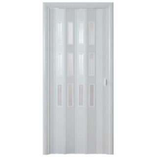 Дверь-гармошка Фаворит «Серый Ясень»