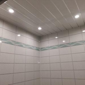 Монтаж светильника в потолке