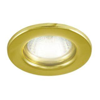 Светильник с лампой золото