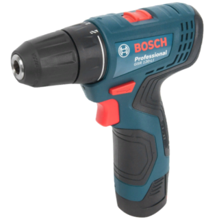 Дрель-шуруповерт аккумуляторная Bosch GSR 120, 12 В Li-ion 2x2 Ач